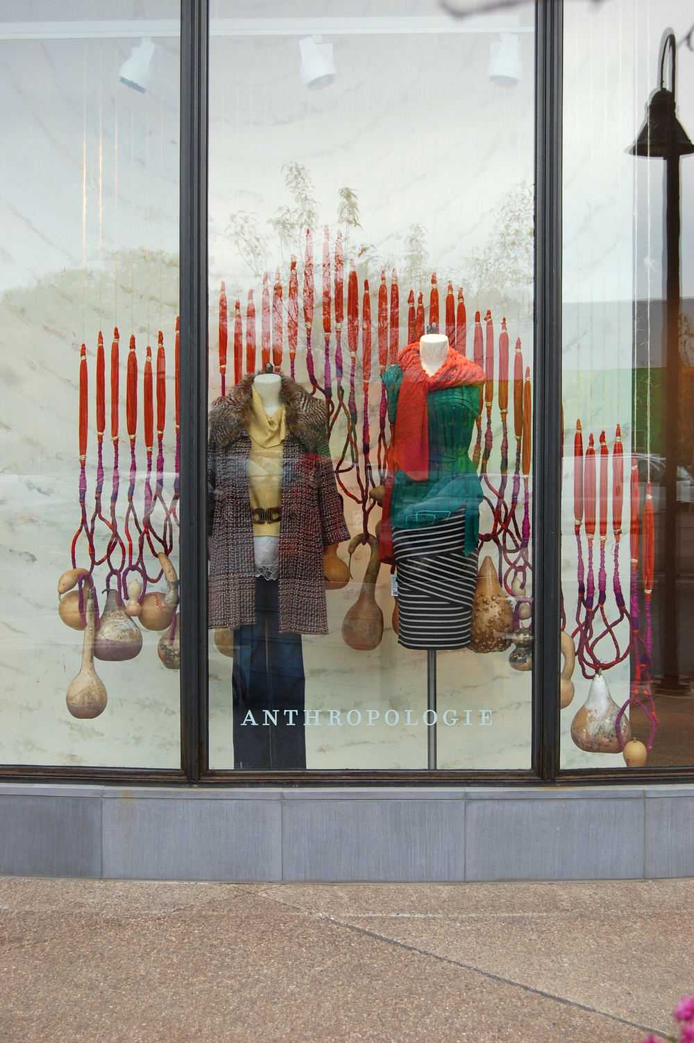 Fall Window Display