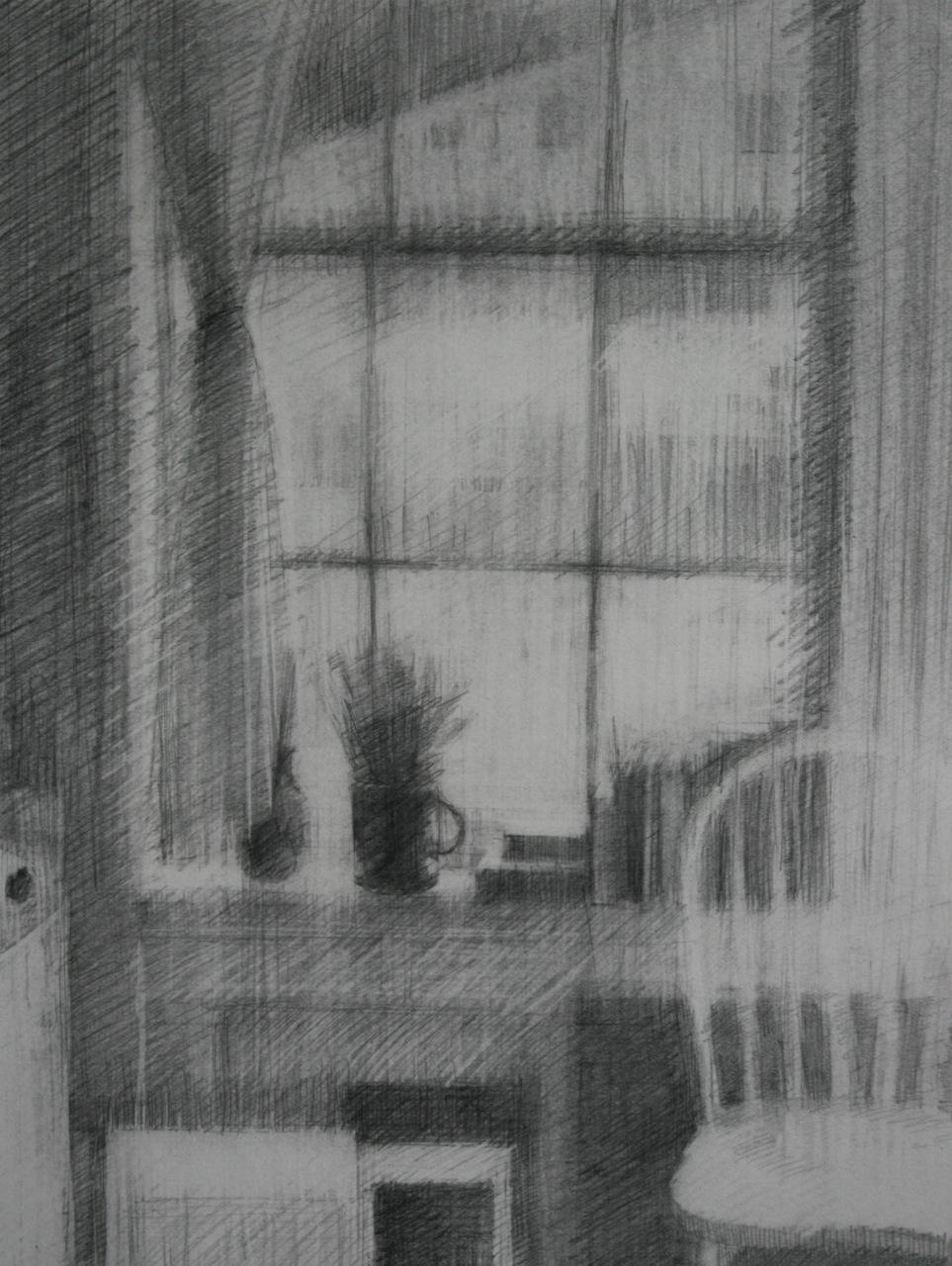 Schmitz_NorthSideStudioLight_graphite on paper_20x16_SOLD.jpg
