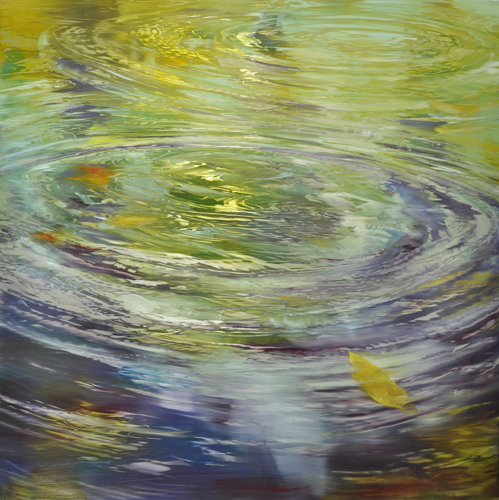 Dunlop_water_concentric motion_ oil on brushed silver anodized aluminum_48x48_15000.jpg