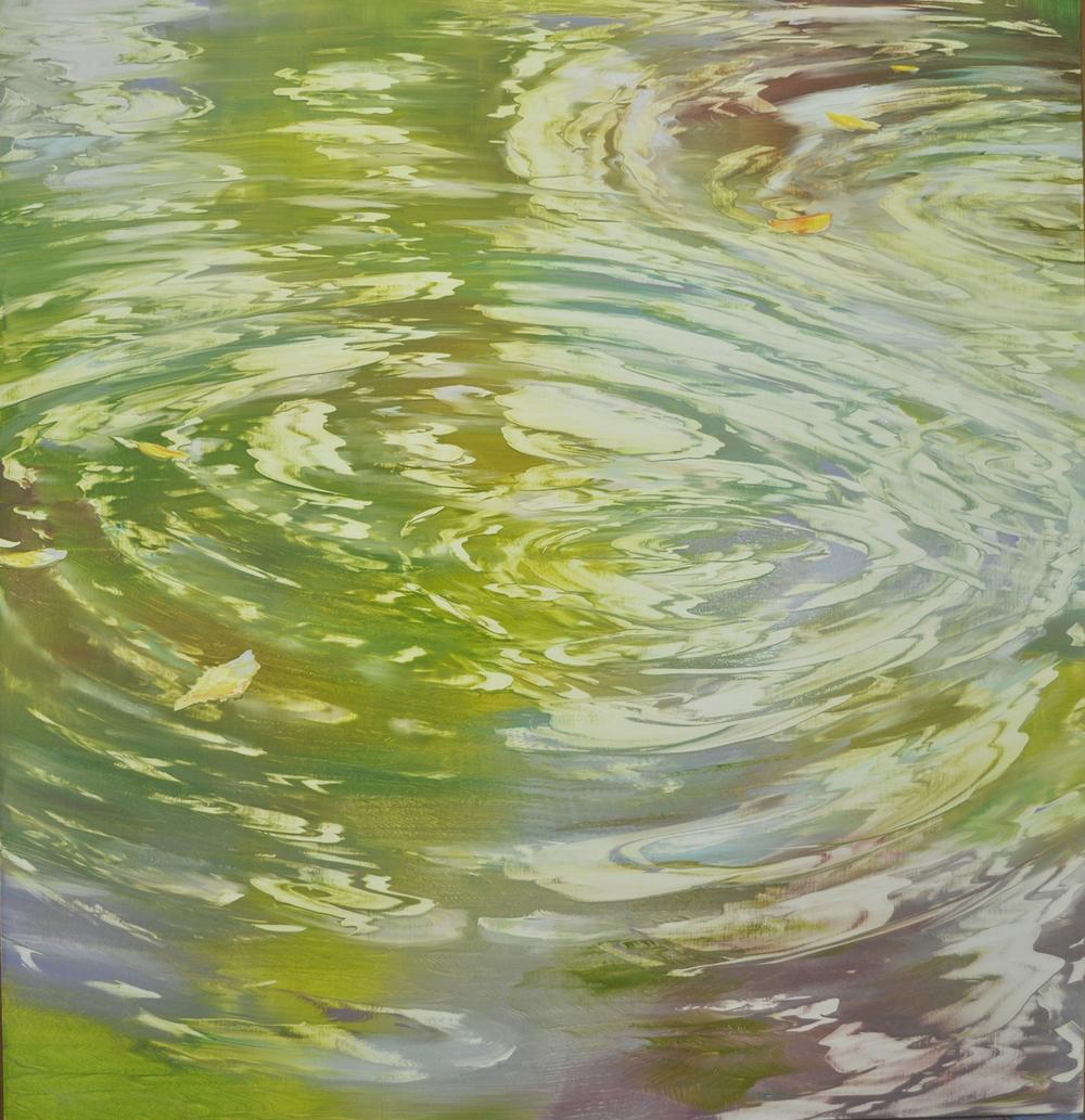 """Harmonic Resonance"", oil on linen, 48x46"