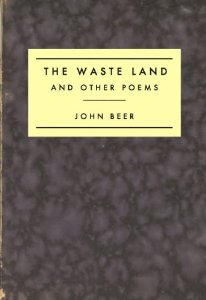 John Beer,  The Waste Land and Other Poems  (2010)