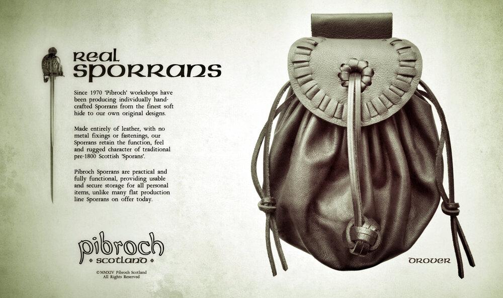 Pibroch Scotland Sporrans - Drover
