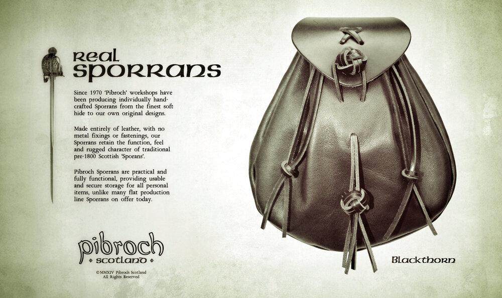 Pibroch Scotland Sporrans - Blackthorn