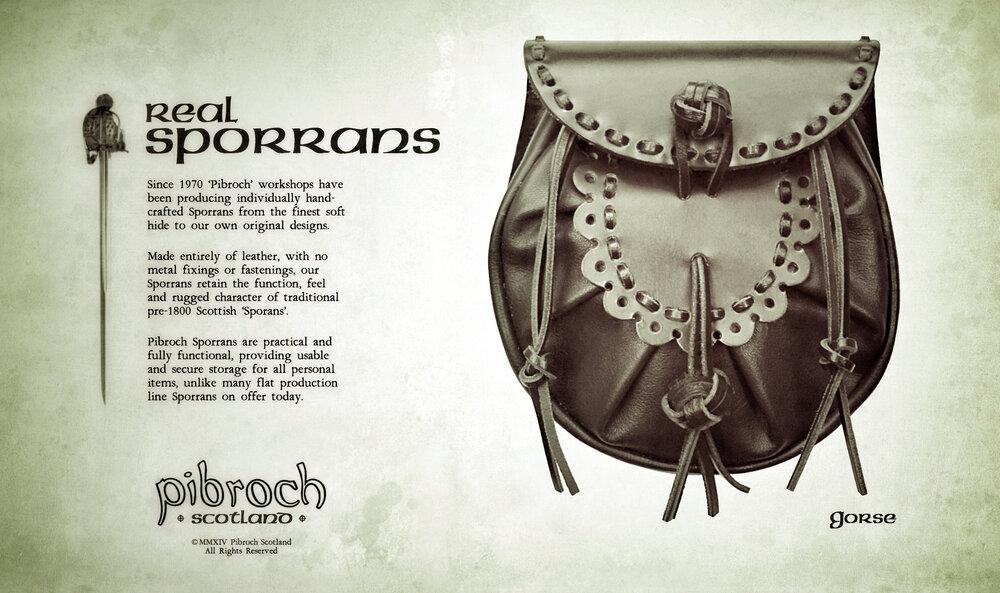 Pibroch Scotland Sporrans - Gorse