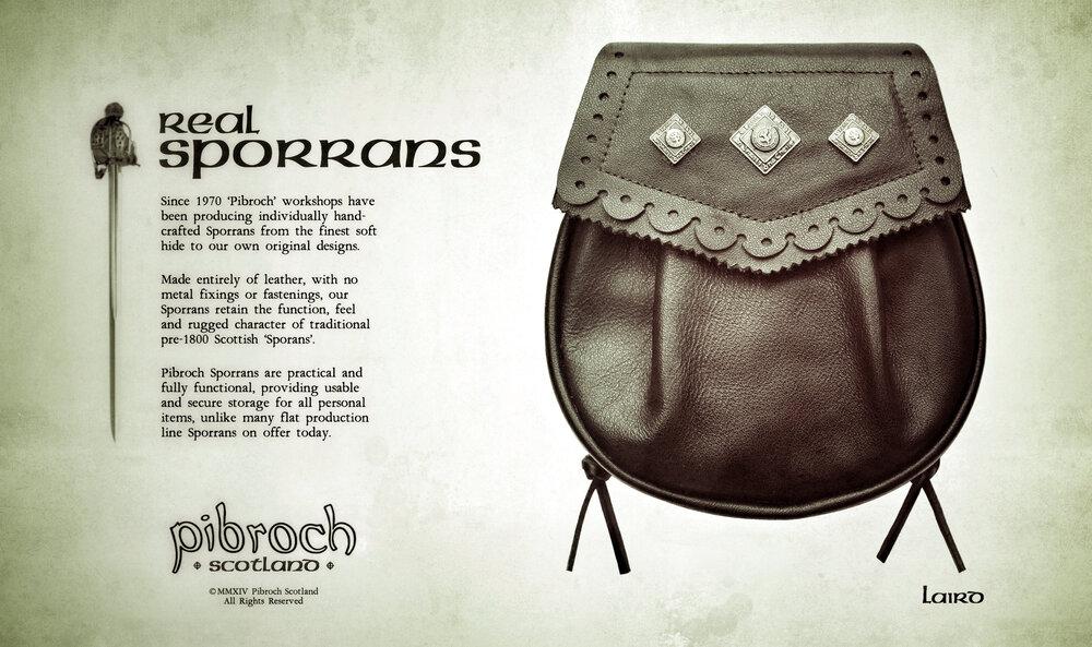 Pibroch Scotland Sporrans - Laird
