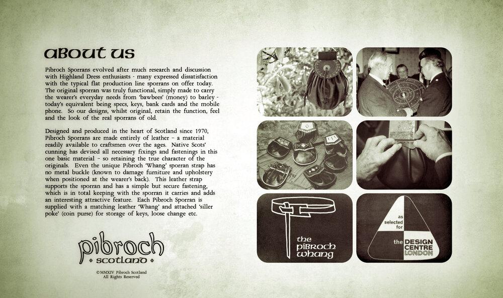 Pibroch Scotland Sporrans - About 2