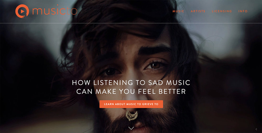 Music to Grieve to at http://musicto.com