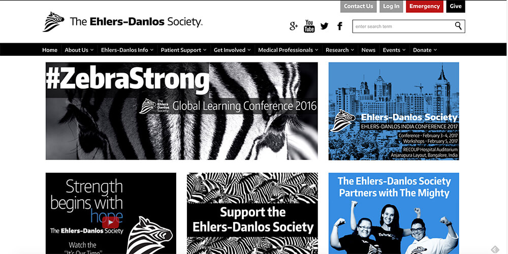 The Ehlers-Danlos Society - click image to visit