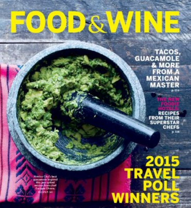 FOOD & WINE: SEPTEMBER 2015