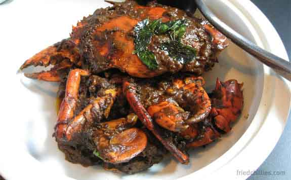 Authentic Crab Curry