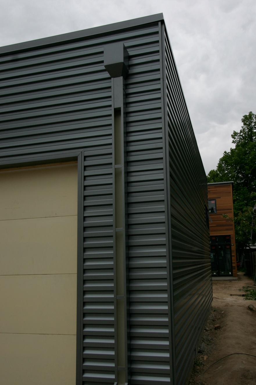 Galvalume metal siding everyone loves denver modern for Contemporary metal buildings