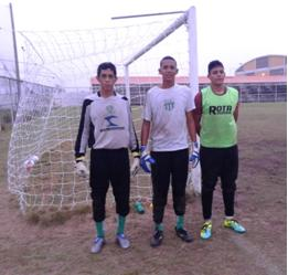 Renato, Alberto e Lucas. Foto: Edson Francisco