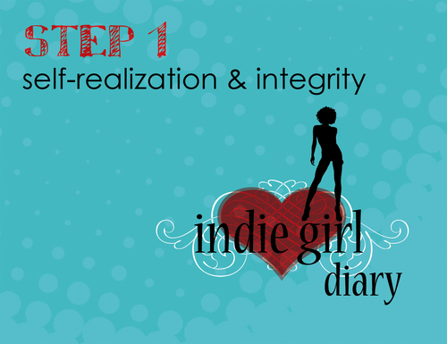 Step 1: Indie Girl Diary