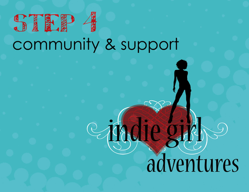 Step 4: Indie Girl Adventures