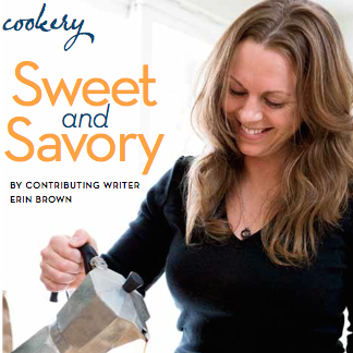 """Even with the expansion and rebranding of her delectable prairie village bakery, Dolce Bakery, Erin Brown makes time to cook heartwarming meals in her home kitchen..."""