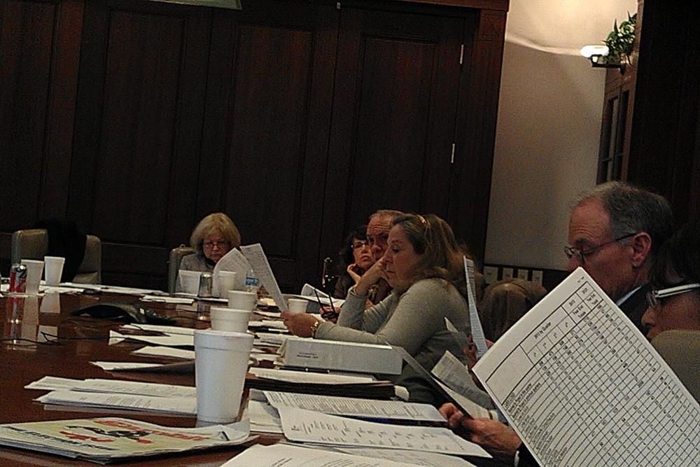 Board Meeting - Jan Hayden, Rachel Piercey, Linton Carney, Carole C. Neff, P. Kevin Colomb Sr., Chauntis Jenkins.jpg