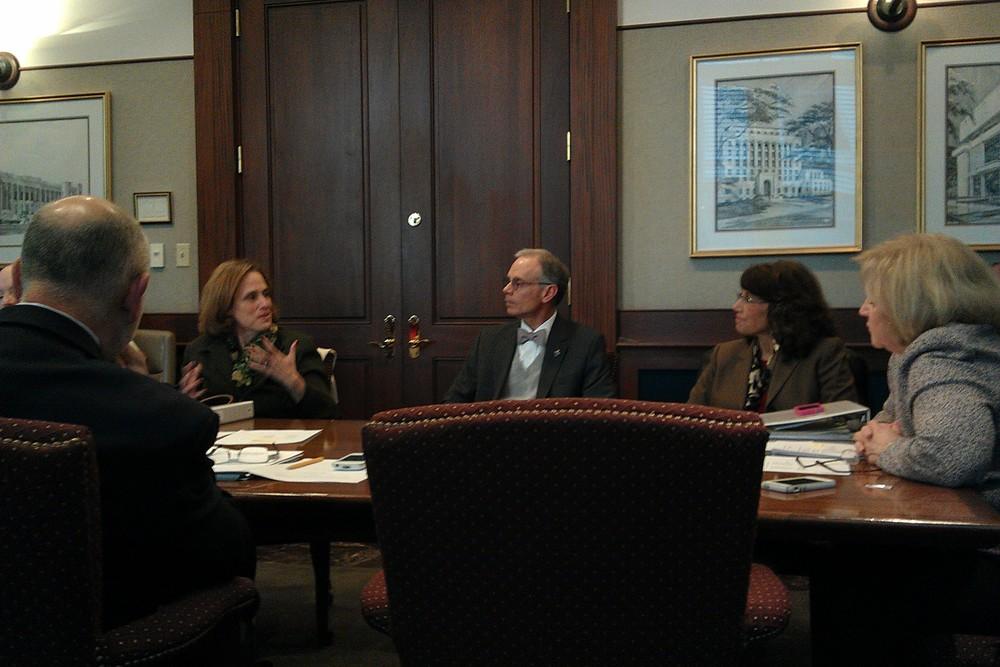Board Orientation - Steven Lane, Norm Rubenstein, Pamela Hansen, P. Kevin Colomb Sr., Rachel Piercey, Jan Hayden.jpg
