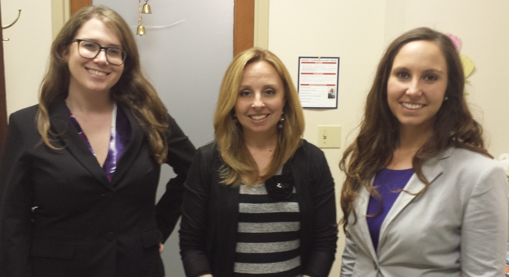 Annie Lemoine, Executive Director Jennifer Rizzo-Choi, Sarah Smith-Clevenger (l to r)