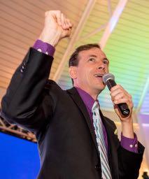 Auctioneer John Calhoun at JFAB 2016