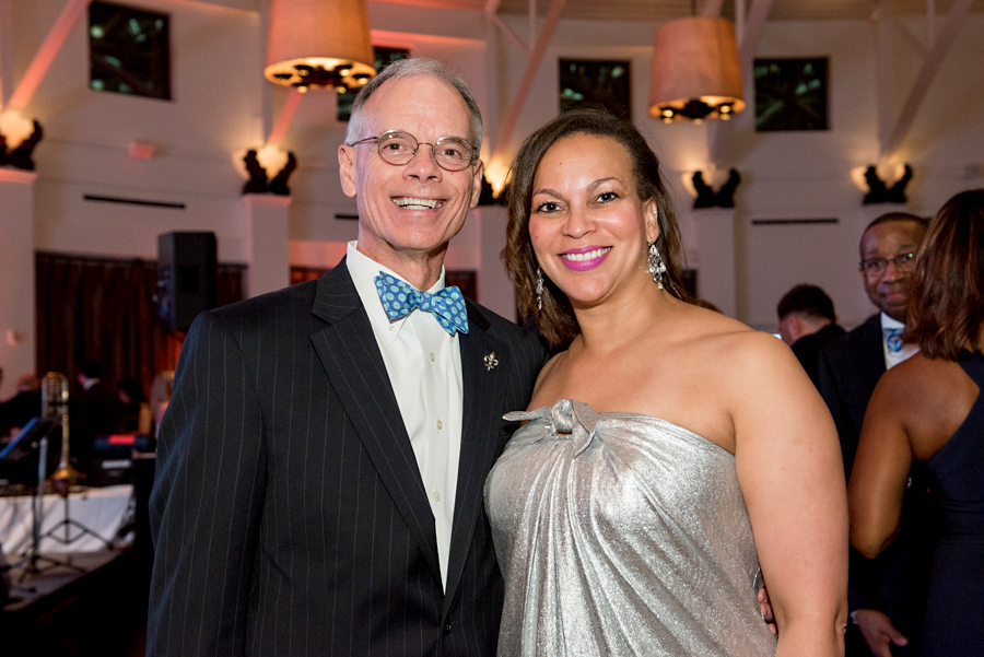 2018 JFAB Committee Co-Chairs Kevin Colomb and Sharonda Williams at the 2017 JFAB