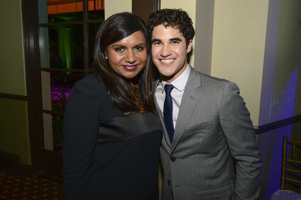 Mindy Kaling and Darren Criss