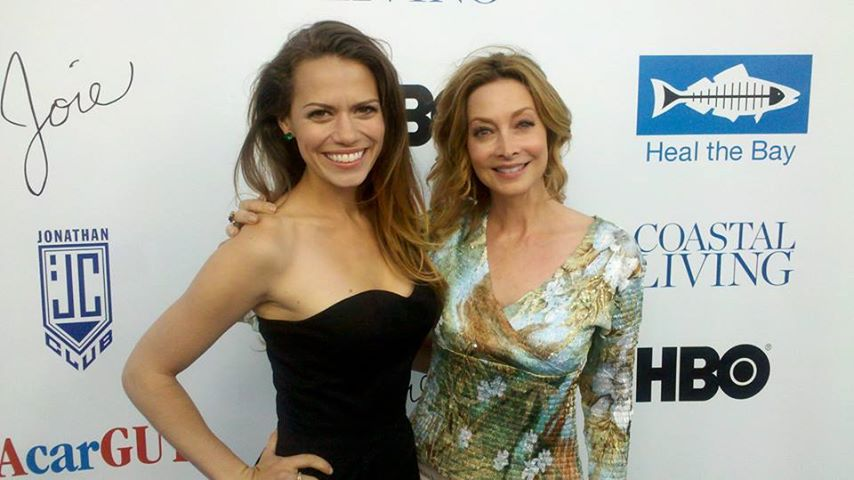 Board Member Sharon Lawrence & Bethany Joy Lenz