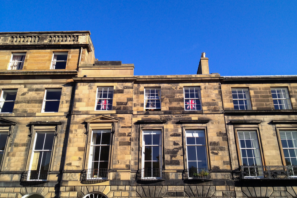 'Aprons' - Heriot Row, Edinburgh