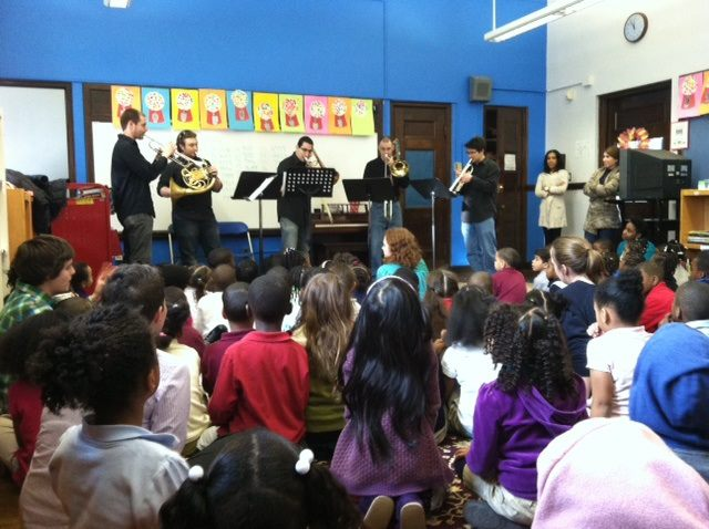 teaming up with discovery ensemble