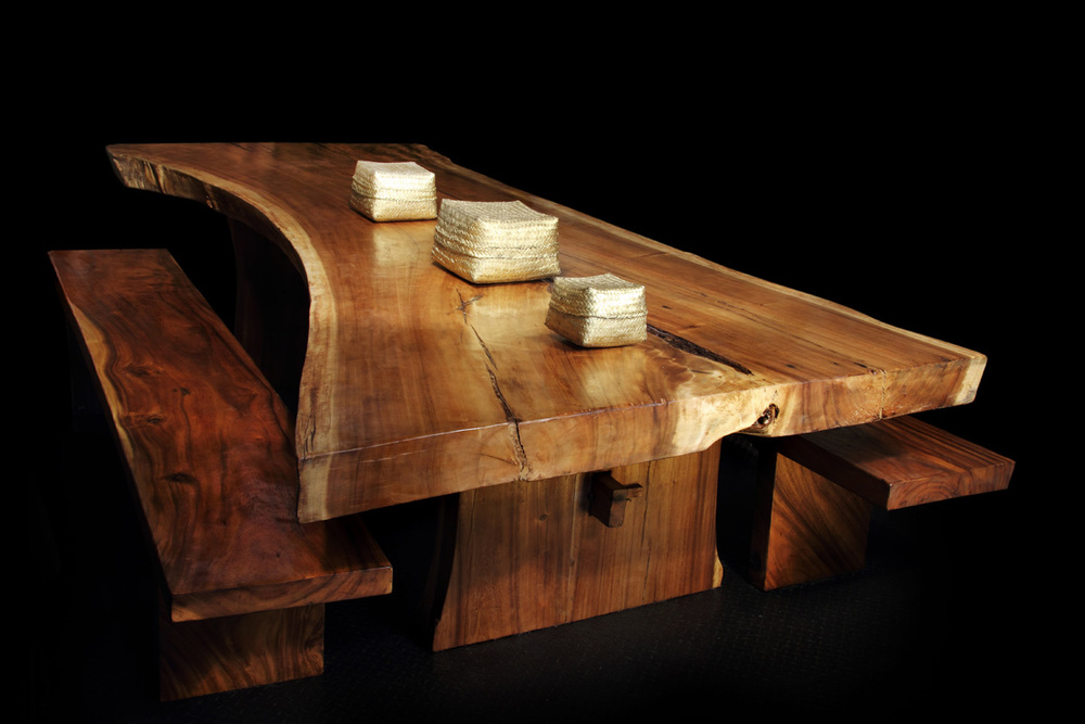 Majestic Live Edge Dining Table (1)