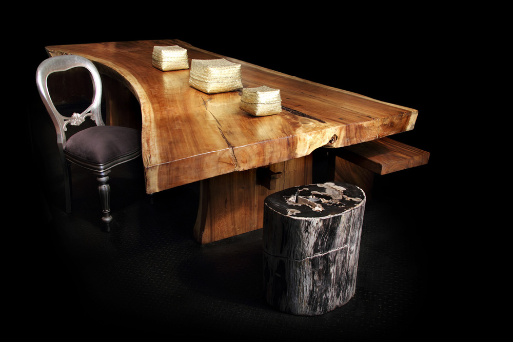 Majestic Live Edge Dining Table (3)