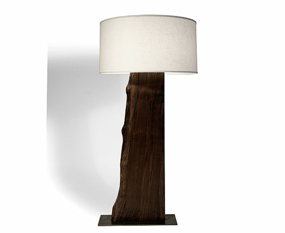 Majestic Live Edge Floor Lamp