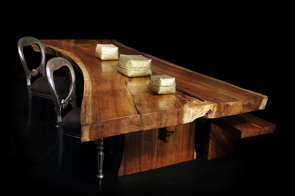 Majestic Live Edge Dining Table (2)