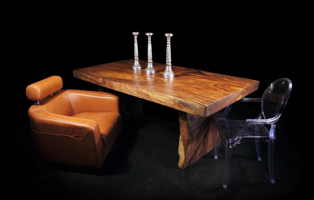 Majestic Straight Cut Single Slab Dining Table (1)