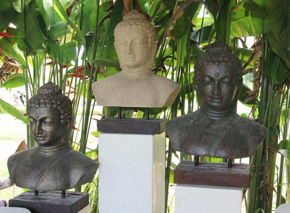 Buddha Garden Buddha Bust