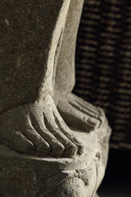 Buddha Garden Stone Goddess Detail (2)