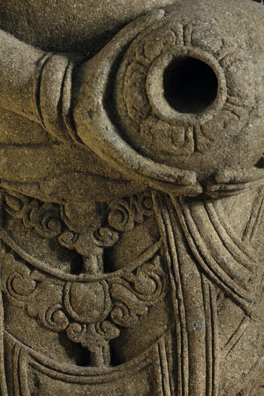 Buddha Garden Stone Goddess Detail (1)