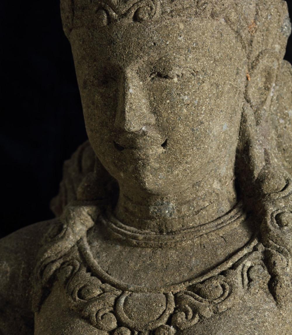 Buddha Garden Stone Goddess