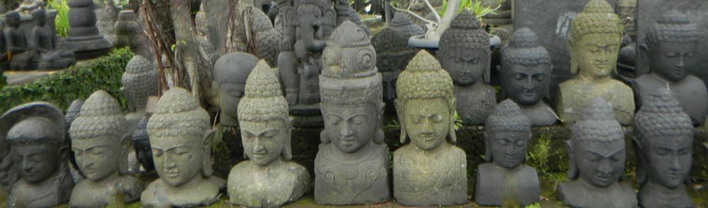 Buddha Garden Head