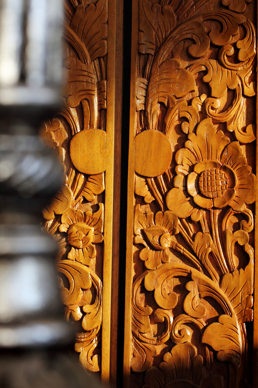 Entrance Doors Carving Detail