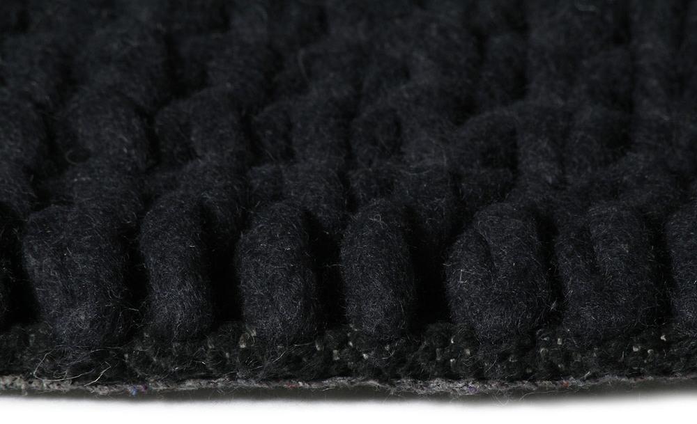 Copy of Super Natural Wool Knit Carpit Charcoal
