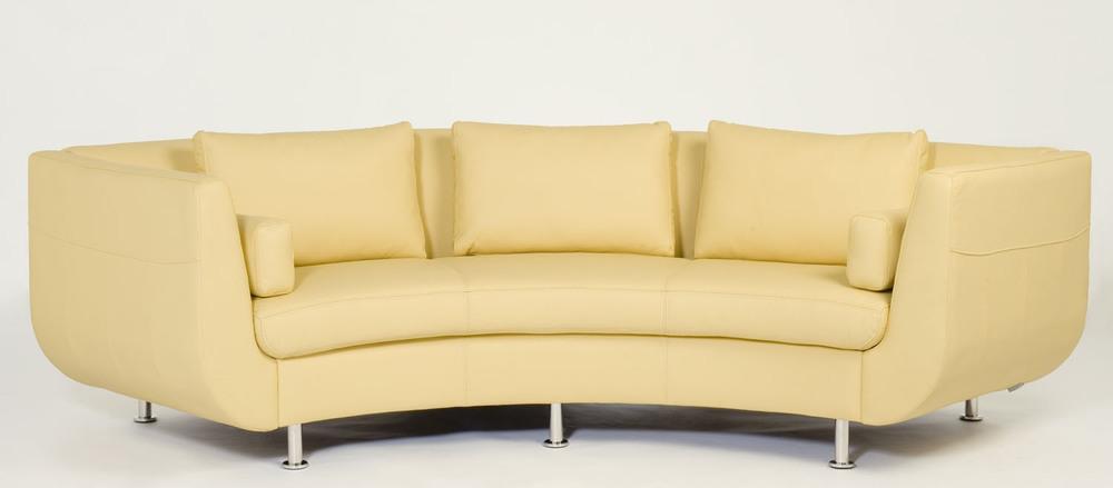 Cocoon I Sofa. Circular sofa, rounded sofa