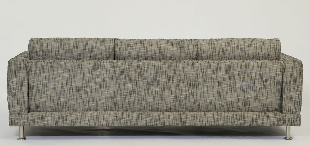 Copy of Design 2 Sofa Back in tweed. Blue Moon Furniture store in winnipeg