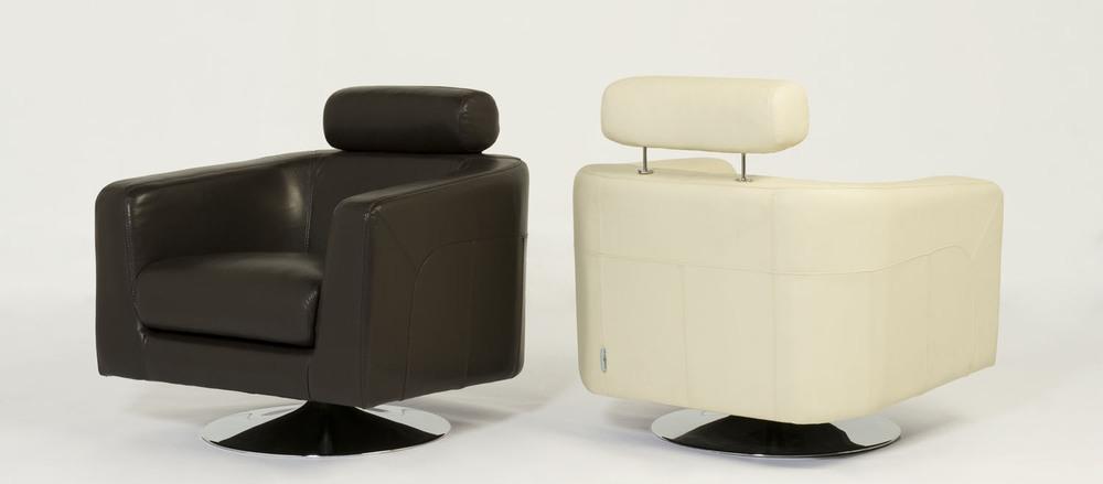 Sean Swivel Chairs. Blue Moon Furniture store in Winnipeg.