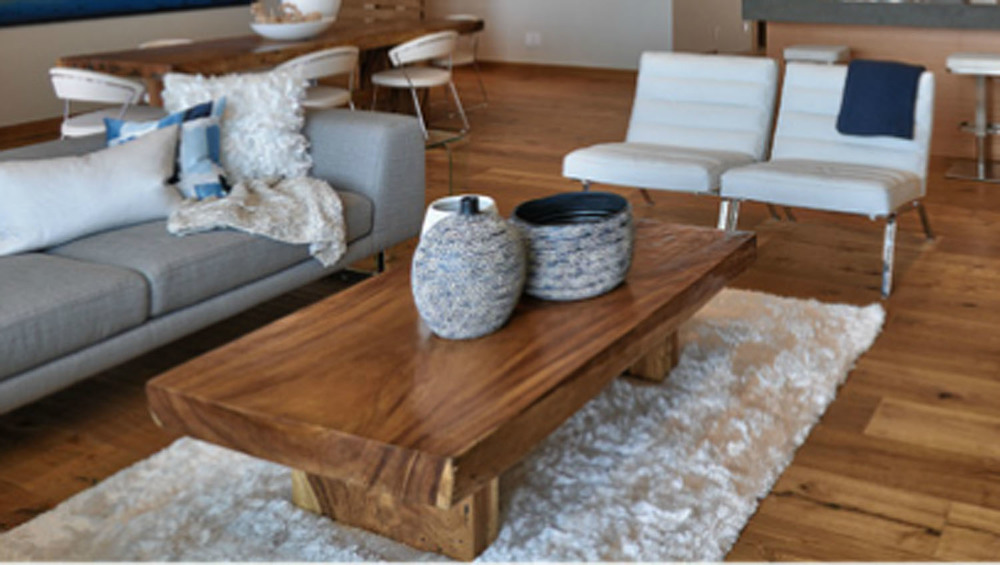 Majestic Straight Cut Single Slab Coffee Table