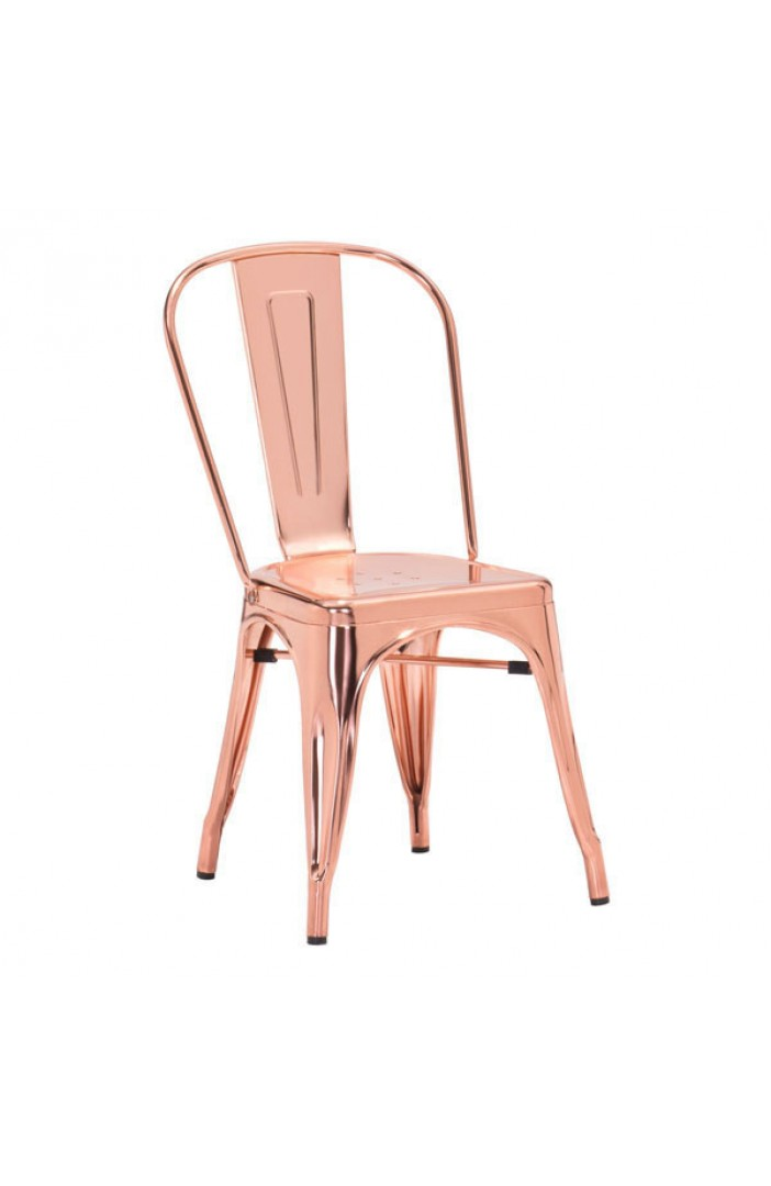 Copy of rose gold tolix chair, barstool and counter stool