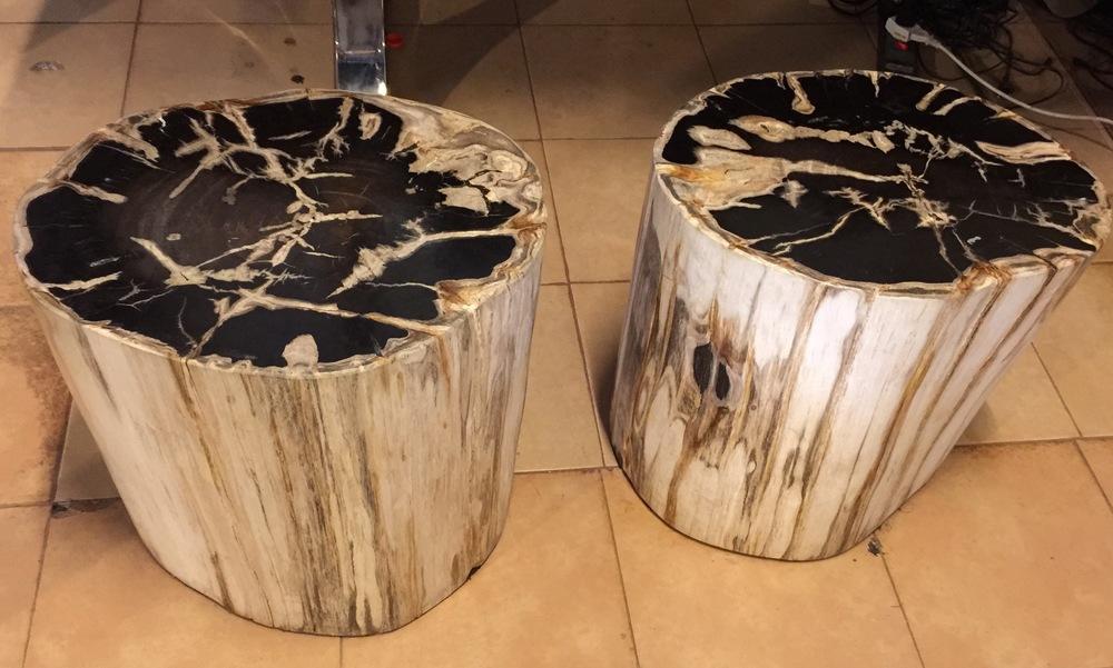 Copy of petrified wood furniture