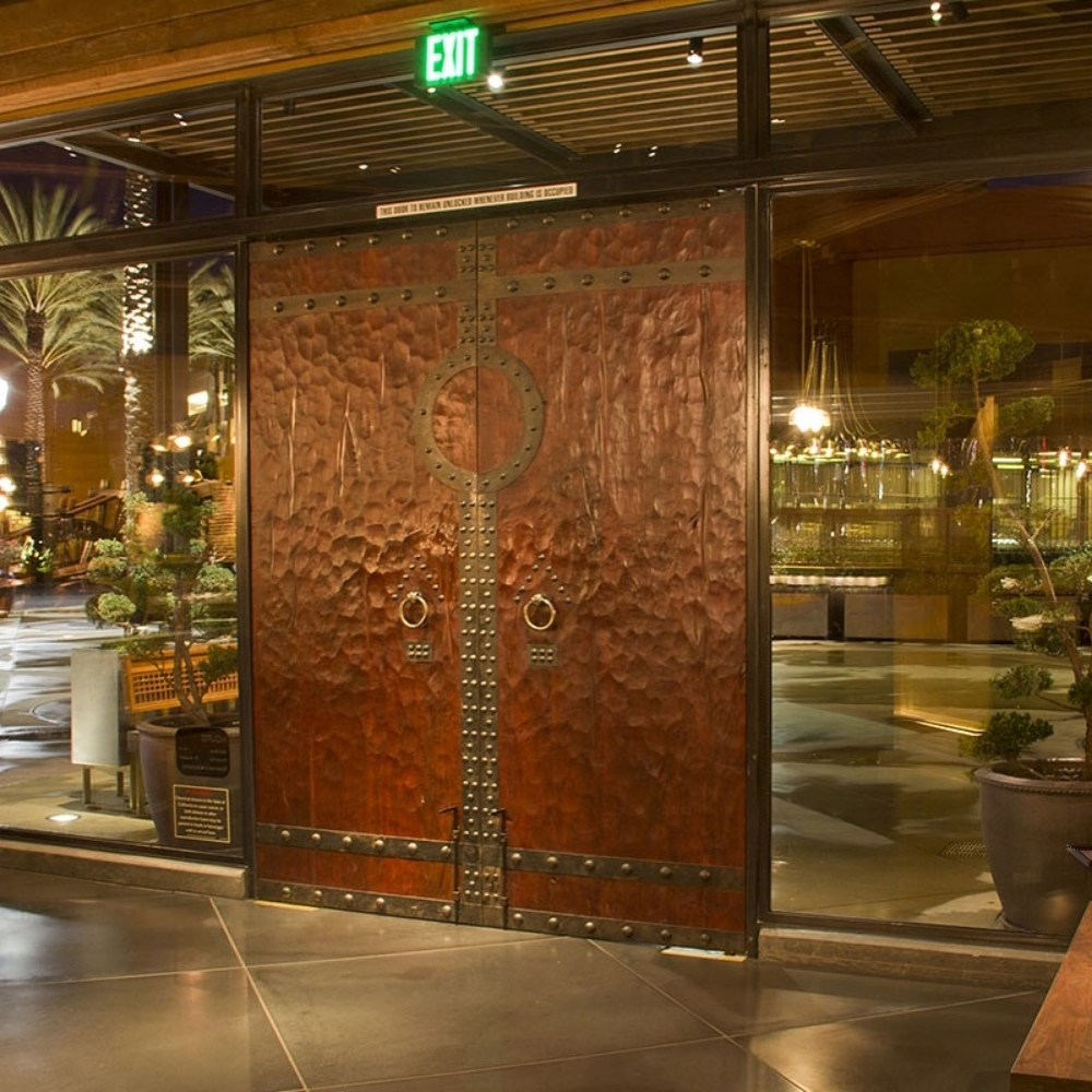 custom doors PF Chang's Irvine California