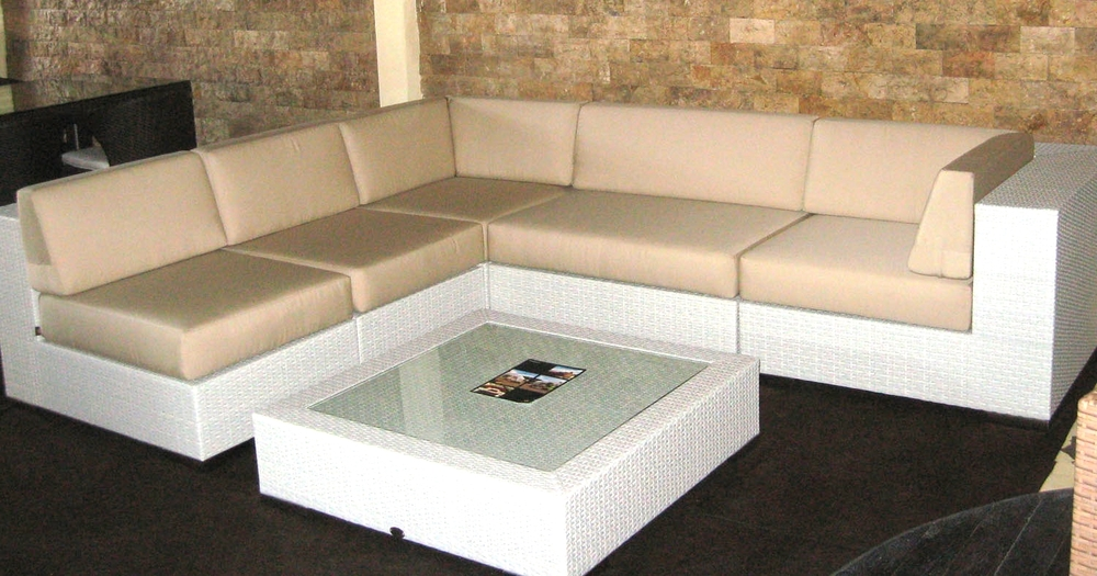 Copy of Breezeway Rattan Sectional