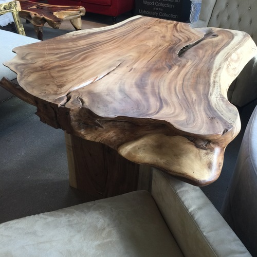 single slab free form table top