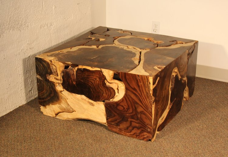 slice coffee table, wood table.JPG